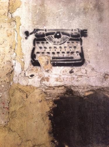 mur machine à écrire.JPG