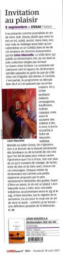 Mazzella_Dictionnaire chic du vin_Livres Hebdo_28 août 2015.png